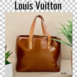Louis Vuitton Satchel bag vernis reade pm brown